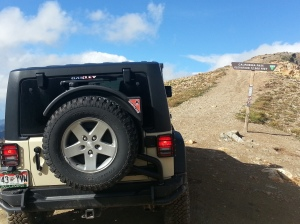 AEV Fuel Caddy w/ stock tire and wheel