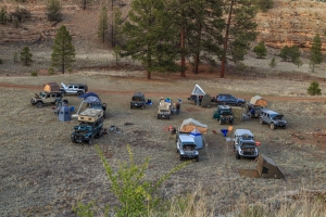Ghost Divide Camp 1