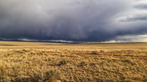 Weather rolling in on the New Mexico high plains.  Sure am going to miss these opportunities.